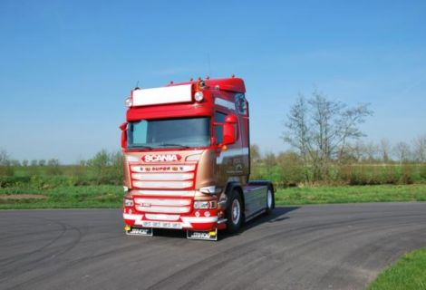 Scania R-450 Ronny Ceusters