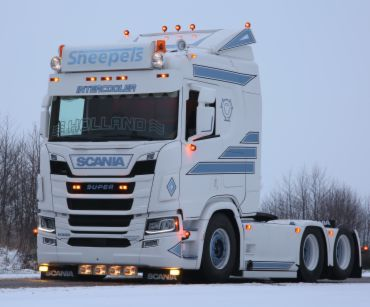 Scania NGR - Sneepels