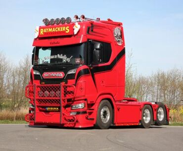 Scania NGS - Raymackers Transports